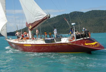 Smooth sailing in the Whitsunday Islands on the Great Barrier Reef