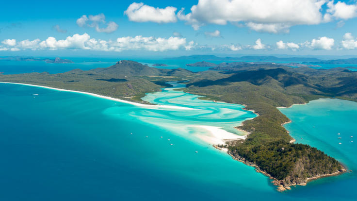 Hill Inlet and Whitehaven Beach - Whitsunday Islands - Great Barrier Reef