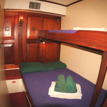 Double Twin Cabin on our Whitsundays Sailing tour