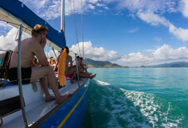 Great Value 2 day sailing tour in the Whitsundays from Airlie Beach