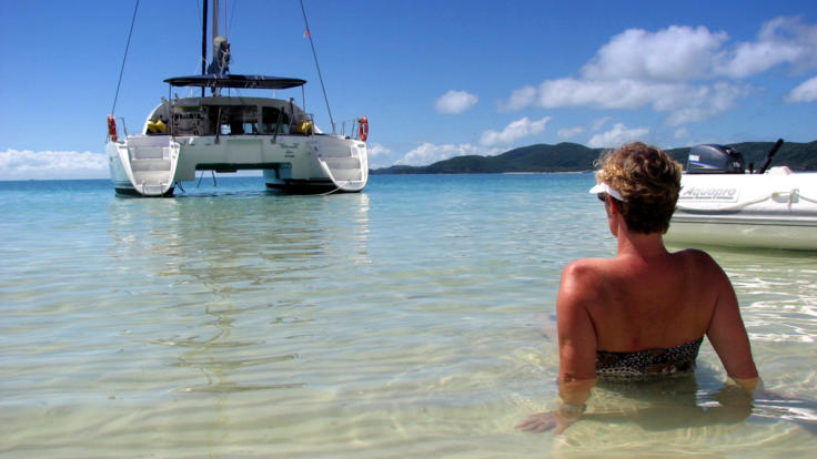 A relaxing luxury adult only sailing tour in the Whitsundays - Great Barrier Reef Australia