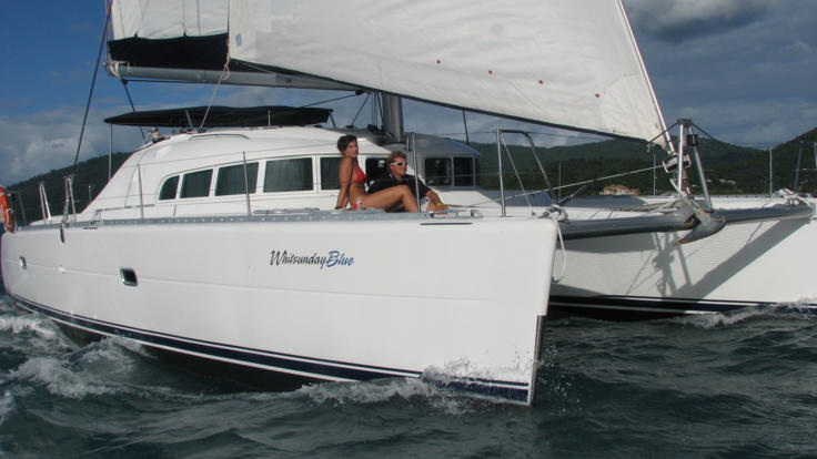 The perfect couples sailing tour in the Whitsundays - Great Barrier Reef - Australia