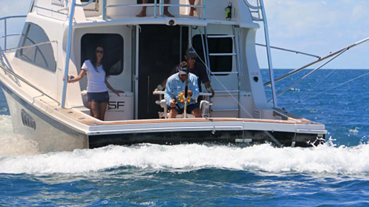 Fishing Charters Port Douglas | Rear deck fishing