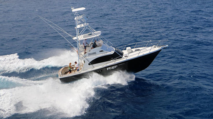 The Ultimate fishing charter aboard the Ultimate game boat from Port Douglas