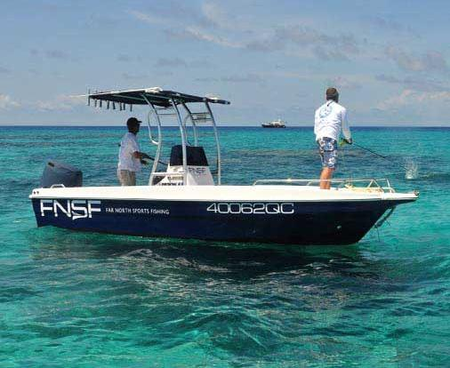 Private Reef Fishing Charter Boat Port Douglas - Great Barrier Reef - Australia