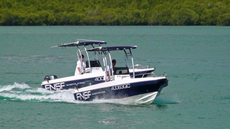 Private Reef Fishing Console Charter Boats Port Douglas - Great Barrier Reef - Australia