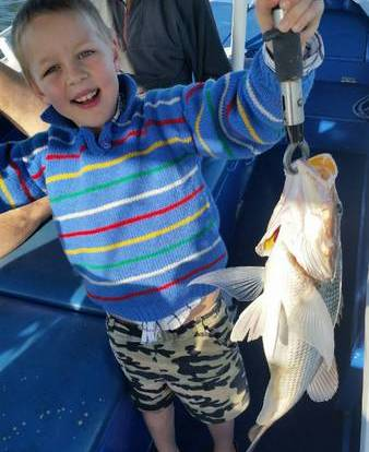 Kids will love fishing in Cairns!