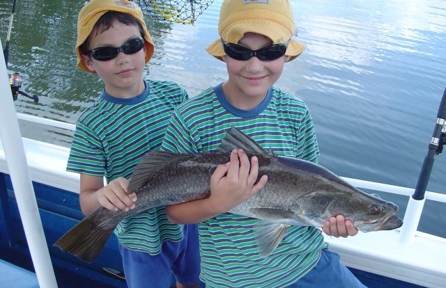 Kids love fishing!