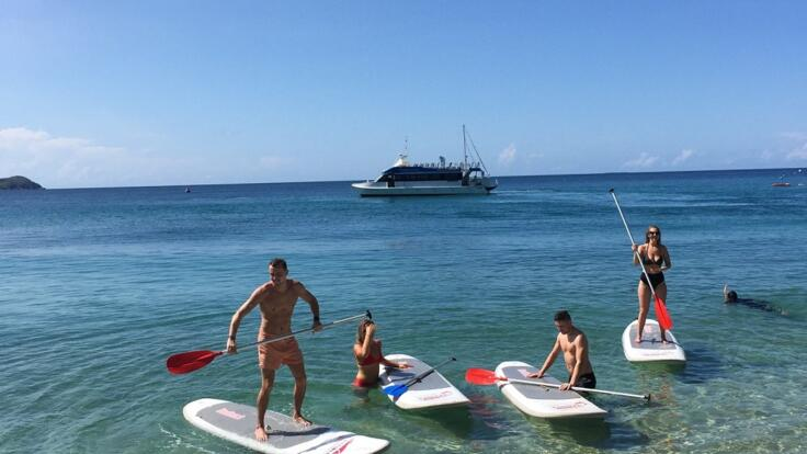 Fitzroy Island Tours - SUP Boards