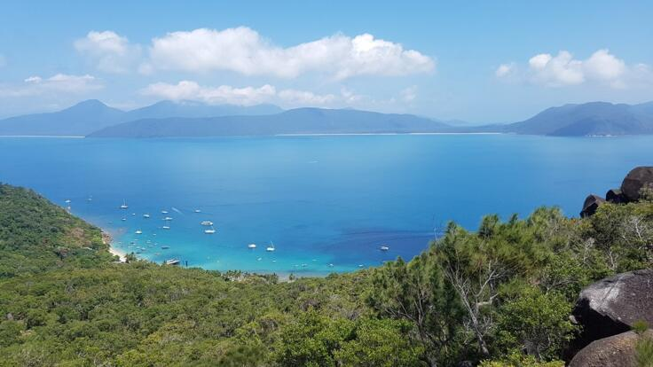 Fitzroy Island Tours - Lookout on Fitzroy Island