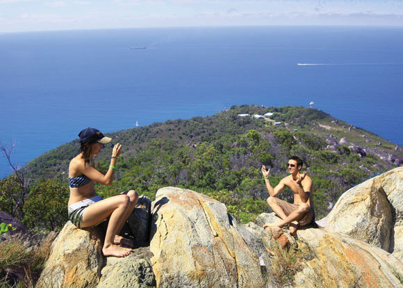 Fitzroy Island Tours - Climb to the lookout on Fitzroy Island