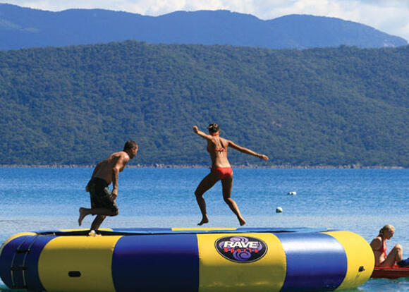 Fitzroy Island Tour - Have fun on the sea trampoline