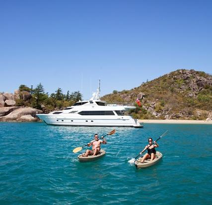 Superyachts Great Barrier Reef - Luxury Private Superyacht Whitsundays - Great Barrier Reef