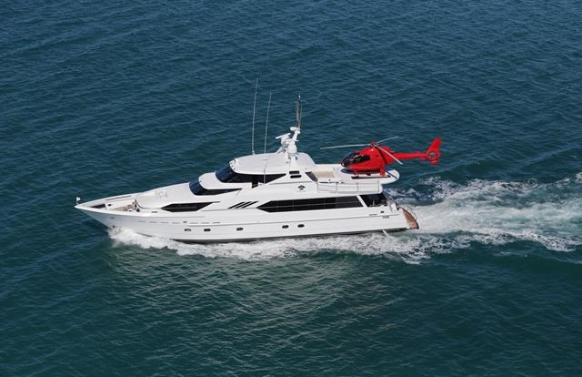 Private Charter Superyacht Port Douglas on the Great Barrier Reef in Australia