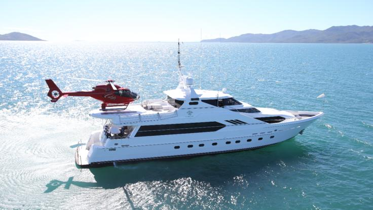 Superyachts Great Barrier Reef - Private charter Superyacht from Port Douglas