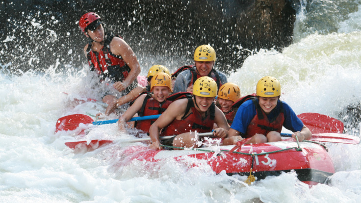 Rafting on Barron is fun and challenging!