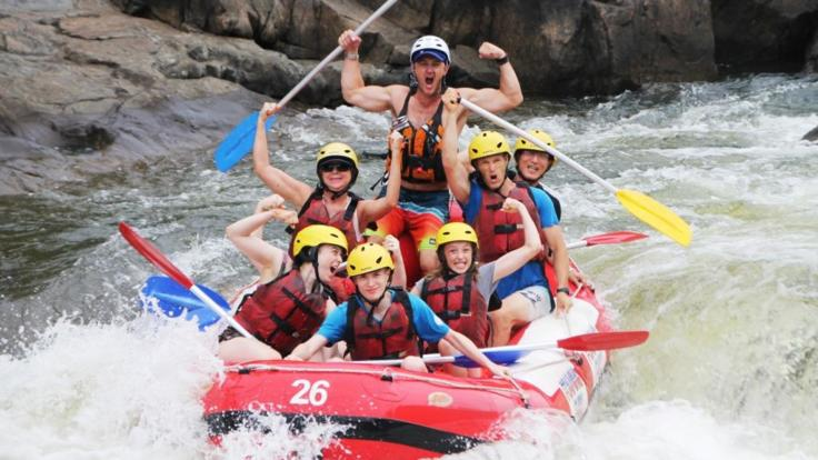Take a trip to Green Island in the morning and cool off while rafting on Barron in the afternoon