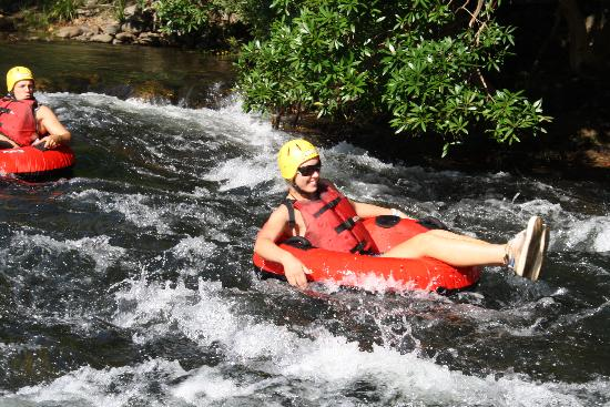 Take your friends and race down the White Water River Rapids before nice meal on Cairns Esplanade
