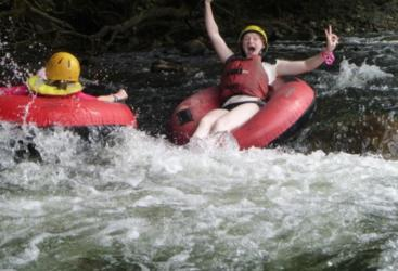 Enjoy thrilling day on the white water rapids in Cairns!