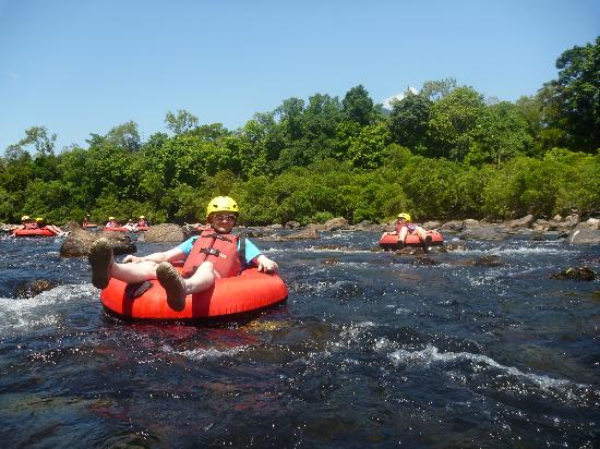 White Water River Tubing in Cairns is great for spotting native wildlife