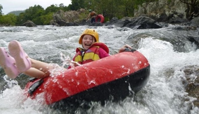 Have fun on Mulgrave River white water rafting in Cairns!