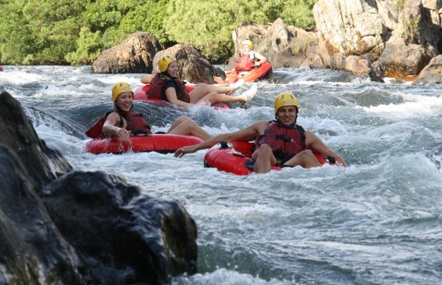 White Water River tubing is the perfect way to cool off in Far North Queensland!