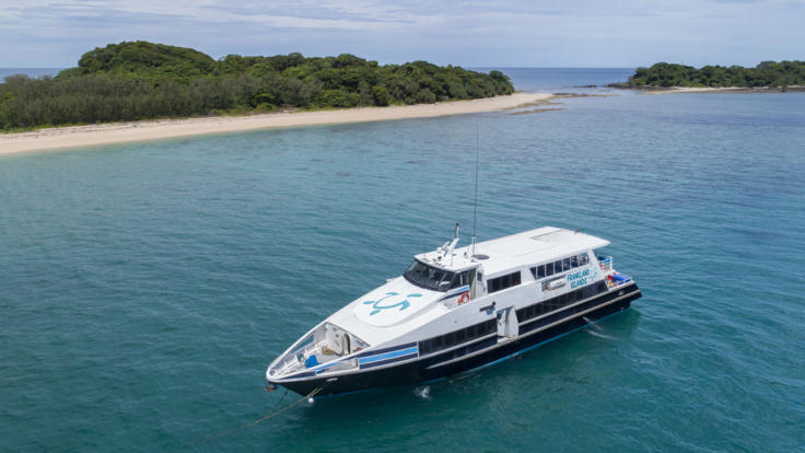 Full Day Great Barrier Reef Island Tour - Comfortable Modern Boat
