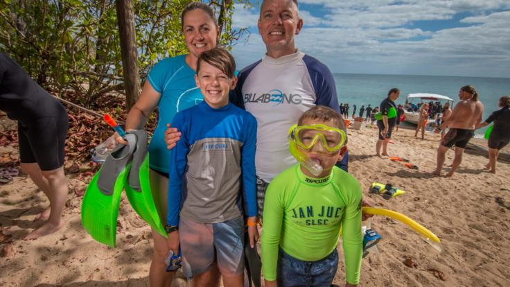 Family Friendly Great Barrier Reef Island Trip from Cairns