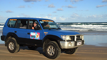 Fraser Island Tours: 4WD Hire on Fraser Island