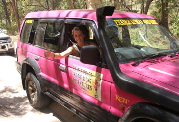 Enjoy real 4WD action on Fraser island - no experience required!