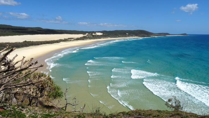 Barrier Reef Australia: Stunning scenery on Fraser Island