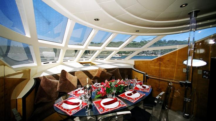 Private Great Barrier Reef Day Charter, 2 Designated Dining Areas