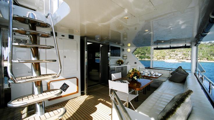 Luxury Great Barrier Reef Private Charter Yacht