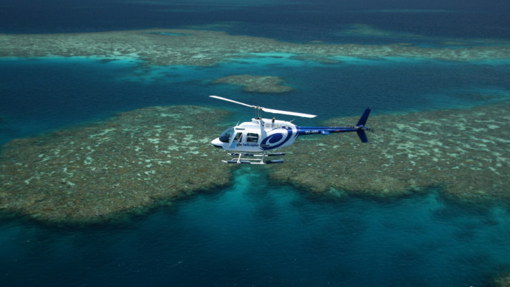 Scenic Reef Flight over the Great Barrier Reef in Australia