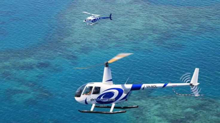 Great Barrier Reef Helicopters Scenic Flights