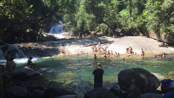Visit picturesque Josephine Falls