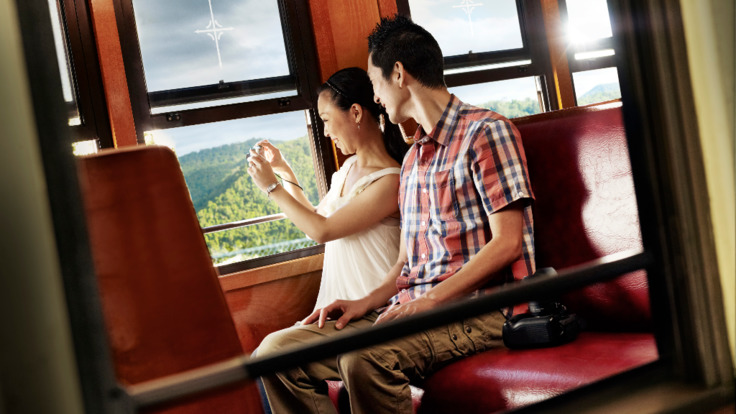 Kuranda Historic Scenic Rail - family tour