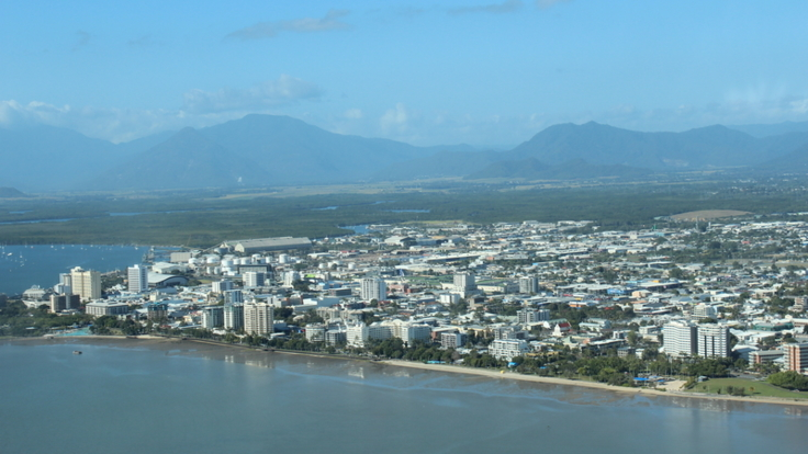 Scenic Flight Aerial views of Cairns