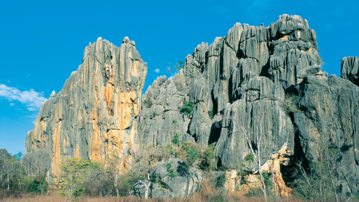Rock formations Chillagoe