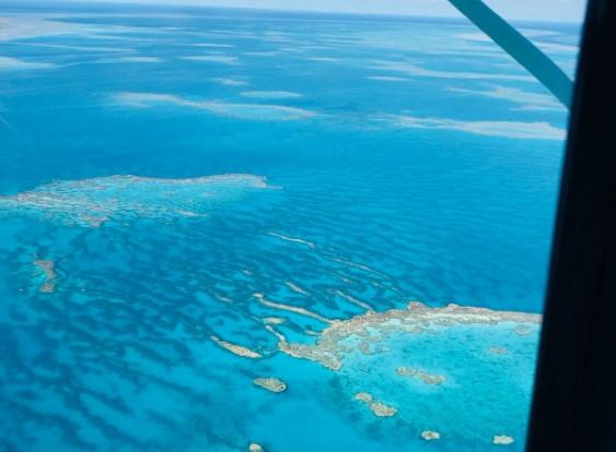 Every passenger has a window seat on our Whitsunday scenic flights
