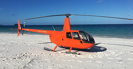 Experience landing on Whitehaven Beach in the Whitsunday Islands - Great Barrier Reef - Australia