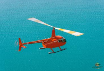 Experience landing on a tropical beach in the Whitsunday Islands - Great Barrier Reef