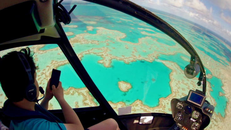 Whitsunday Islands scenic flights from Airlie Beach - Great Barrier Reef
