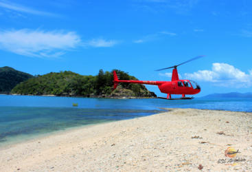 Whitsundays Scenic Flight | Beach Landing
