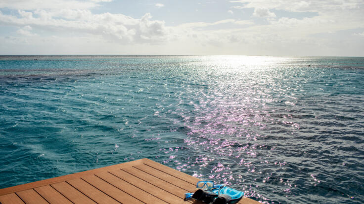 Heart Reef Tour from Hamilton Island - Sit on the Deck - Snorkel Heart Reef