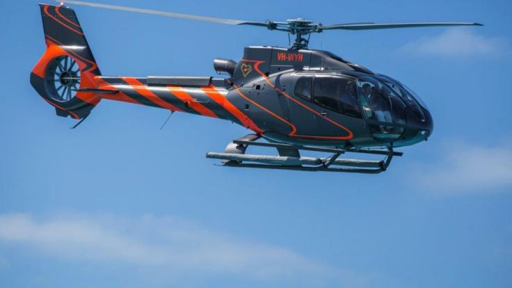 Charter an Airbus H130 for your Great Barrier Reef Scenic Flight over the Whitsundays & Great Barrier Reef