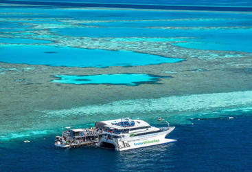 Reefworld Pontoon Whitsundays Great Barrier Reef, Australia