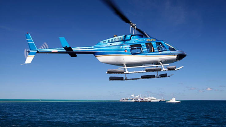 Helicopter Flights - Great Barrier Reef - Whitsunday Islands of Australia