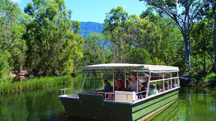 Join the cruise to see the crocodiles up close