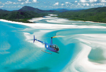 Helicopter Flights - Whitsundays Scenic Helicopter Flights